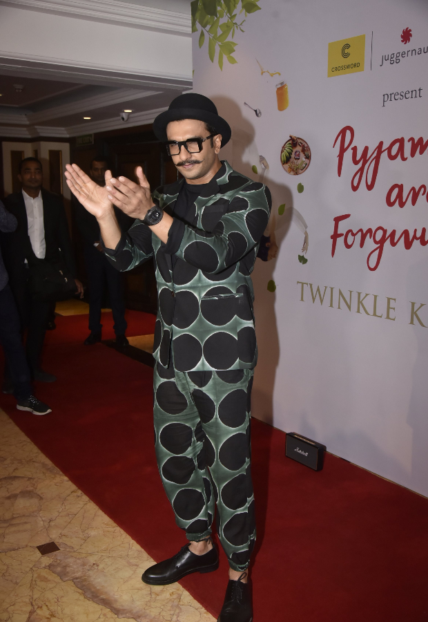 Ranveer Singh at Twinkle Khanna's book launch event (1)
