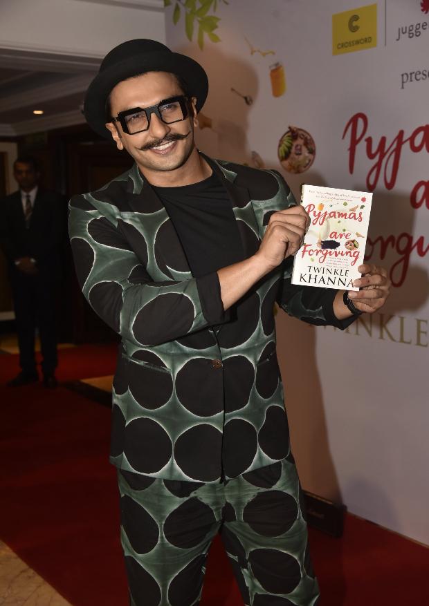 Ranveer Singh at Twinkle Khanna's book launch