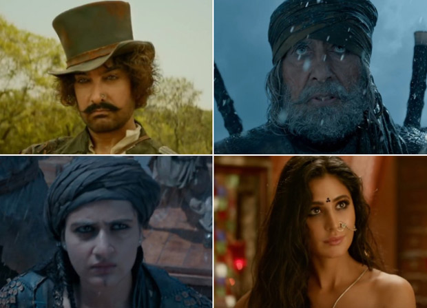 THUGS OF HINDOSTAN TRAILER Aamir Khan, Amitabh Bachchan, Fatima Sana Shaikh and Katrina Kaif's mega – adventure is a rollercoaster ride