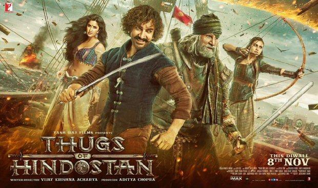 Thugs Of Hindostan poster LEAKED Aamir Khan, Amitabh Bachchan, Katrina Kaif & Fatima Sana Shaikh look impressive
