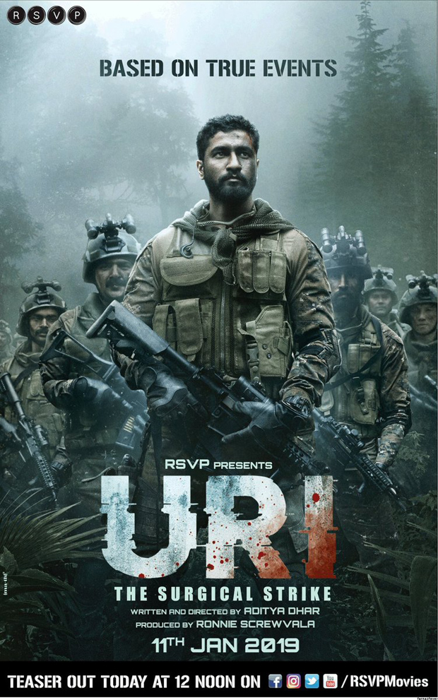 URI: Vicky Kaushal goes intense as an army officer in this film about Uri attacks
