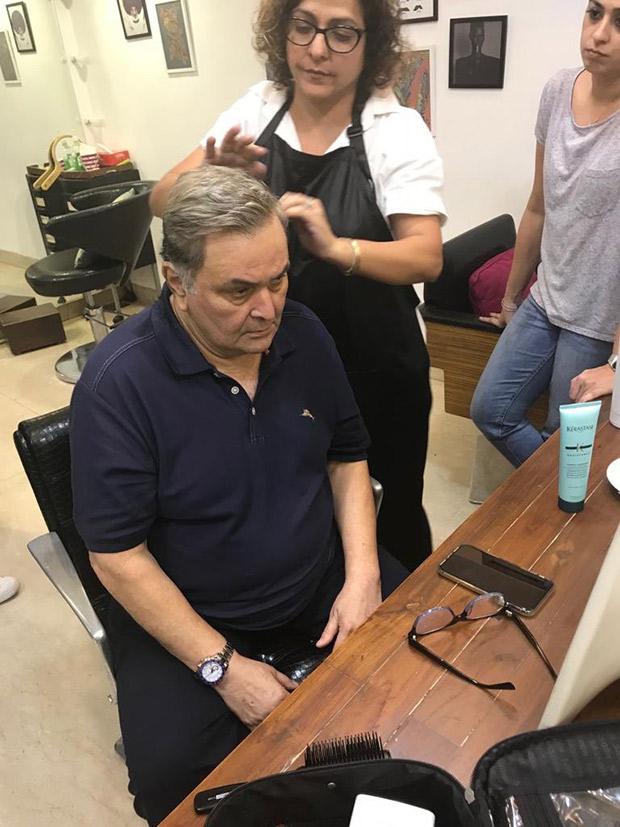 Amid treatment in New York, Rishi Kapoor reveals the real reason behind his grey hair look