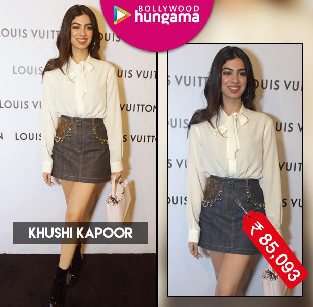 Celebrity Splurges - Khushi Kapoor