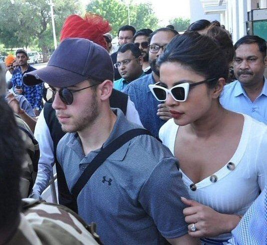 Check out Priyanka Chopra flies to Jodhpur with Nick Jonas