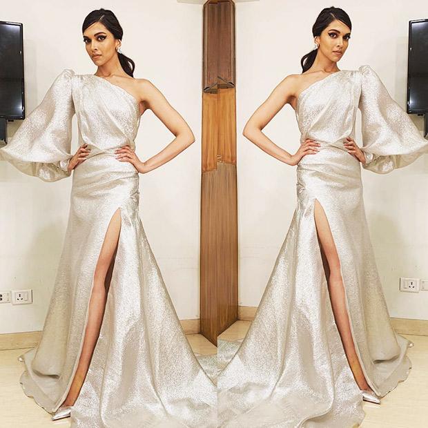 Deepika Padukone in Gauri & Nainika for Elle Beauty Awards 2018 (2)