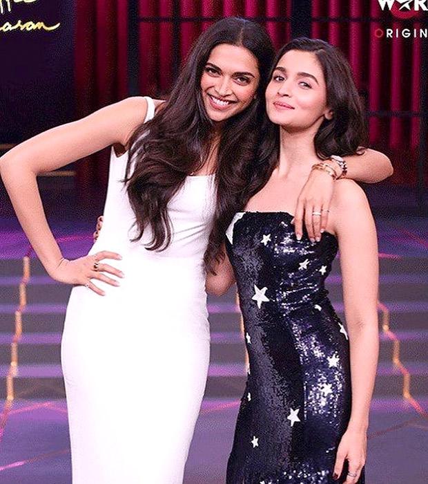 Deepika Padukone in Gauri & Nainika for KWK 6 (6)