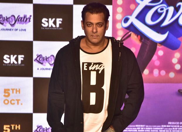 EXCLUSIVE: Salman Khan shoots promotional song for Aayush Sharma's LoveYatri