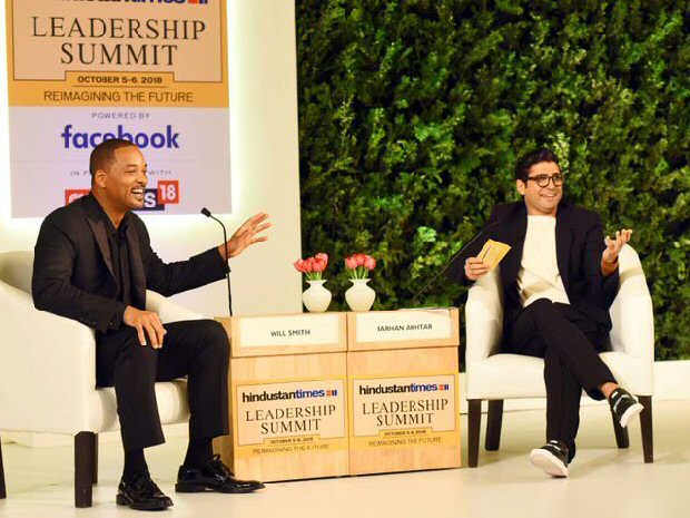 Farhan Akhtar gives Bhangra lessons to Hollywood superstar Will Smith
