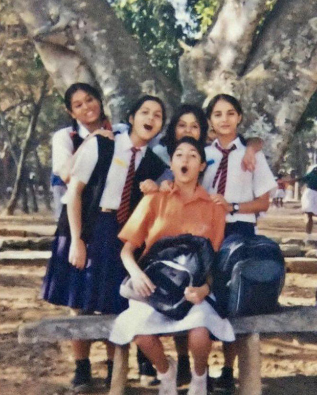 Flashback Friday Anushka Sharma is a fun-loving teenager while posing with her gang in this cute photo