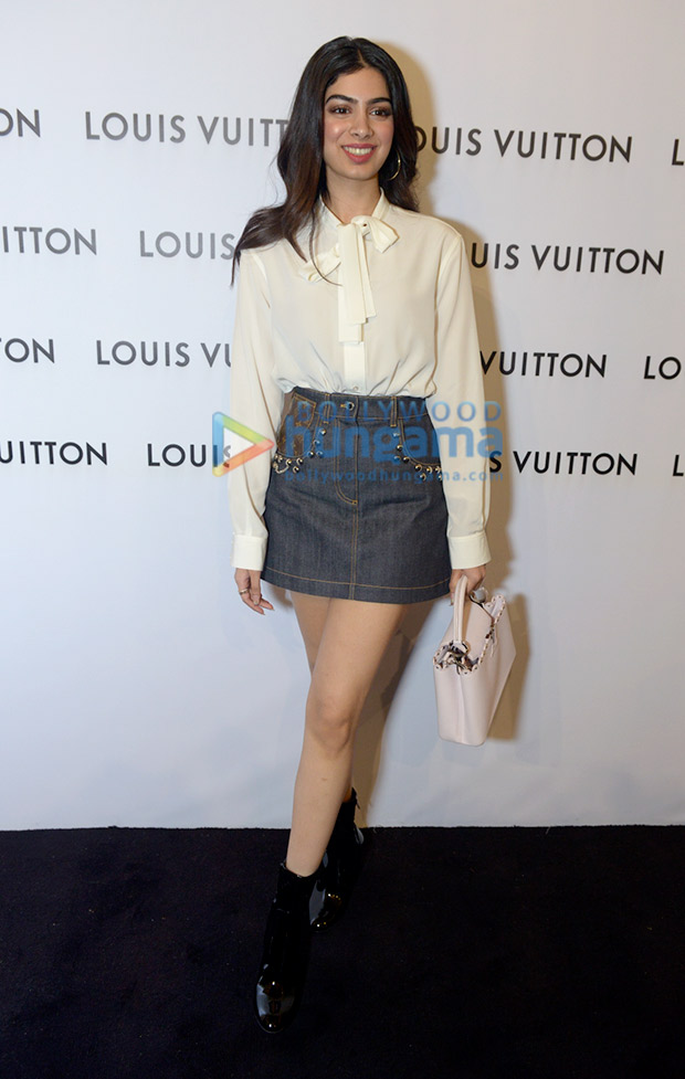 Khushi Kapoor in LV at LV Store launch in Delhi (3)