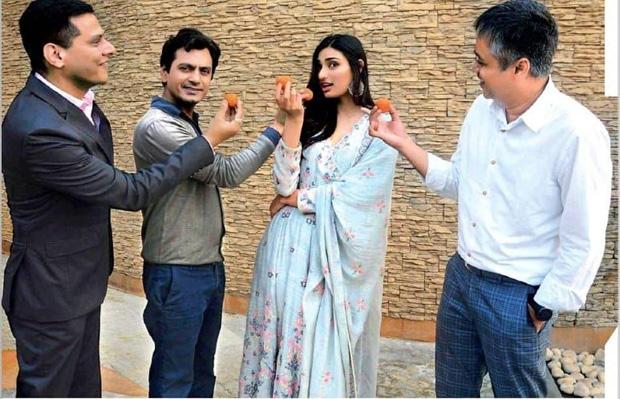 Nawazuddin Siddiqui and Athiya Shetty kickstart the wedding comedy, Motichoor Chaknachoor