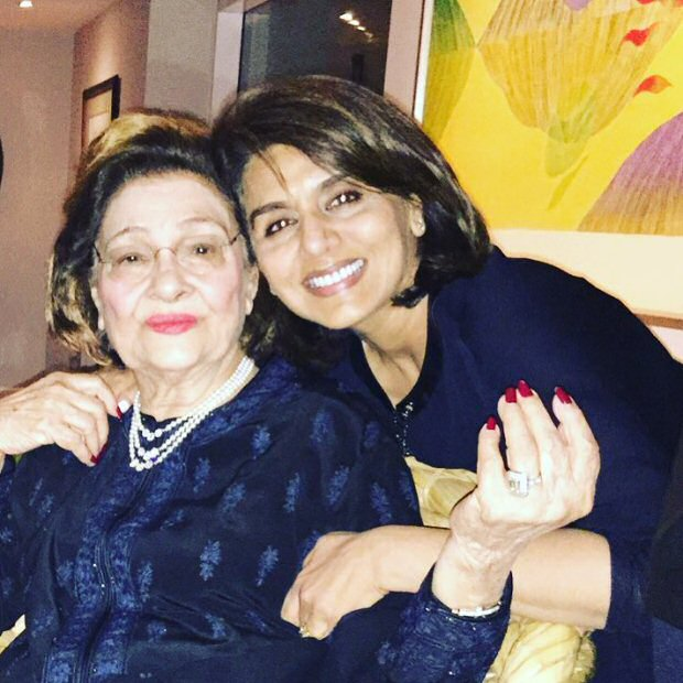 Neetu Kapoor remembers mother-in-law Krishna Raj Kapoor in a heartfelt post after missing the funeral