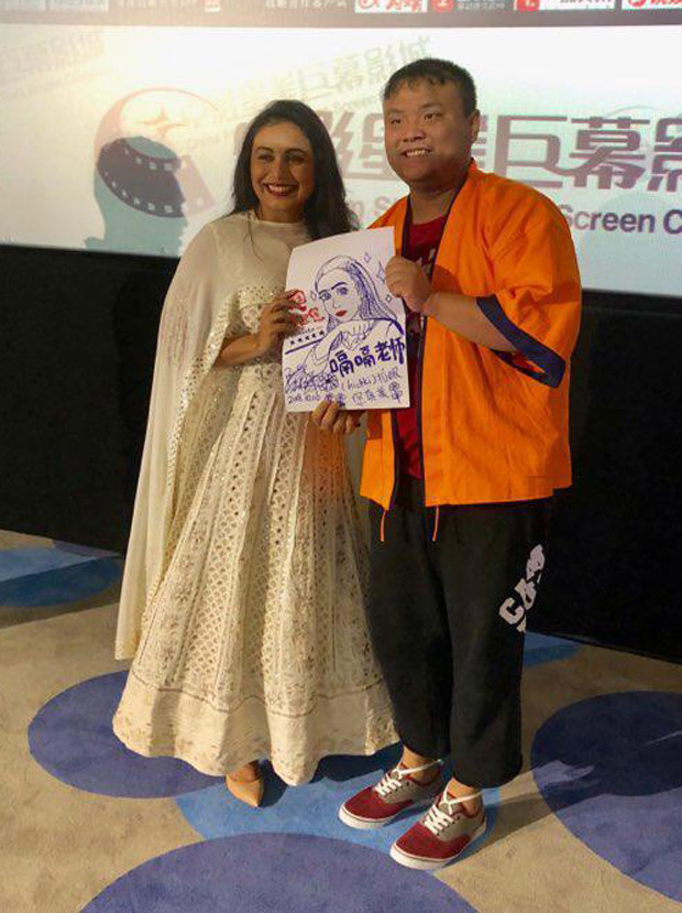 Rani Mukherji moved to tears in China!