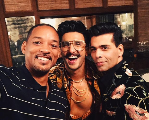 Check out: Will Smith learns the ropes of Bollywood from Ranveer Singh and Karan Johar