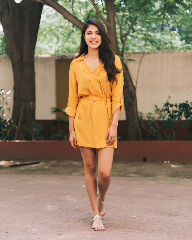 Rhea Chakraborty in Only x Harry Potter (1)