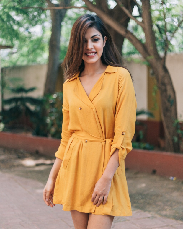 Rhea Chakraborty in Only x Harry Potter (5)