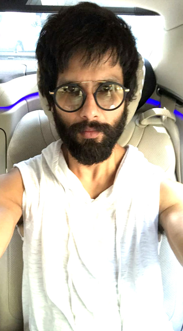 Shahid Kapoor goes UNKEMPT and sports bearded look for Arjun Reddy remake