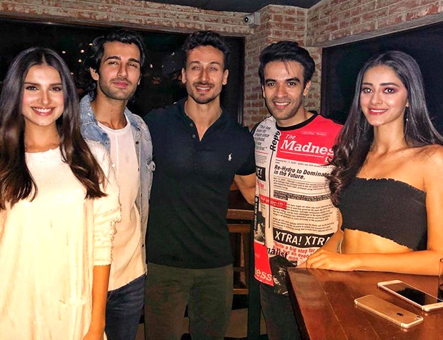 Tiger Shroff makes a rare appearance for Student Of The Year 2 team