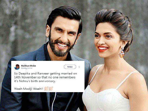 Twitter has a field day with hilarious memes after Deepika Padukone and Ranveer Singh announce their wedding