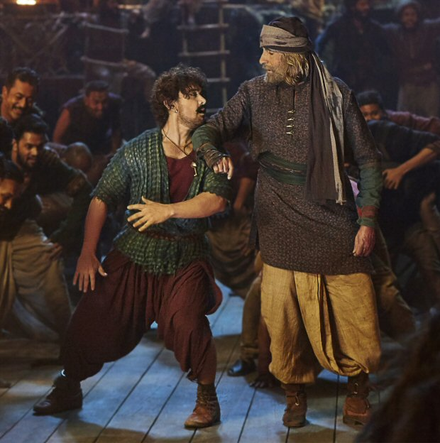 Vashmalle is a dream song for me! - Aamir Khan on dancing with Amitabh Bachchan in Thugs Of Hindostan