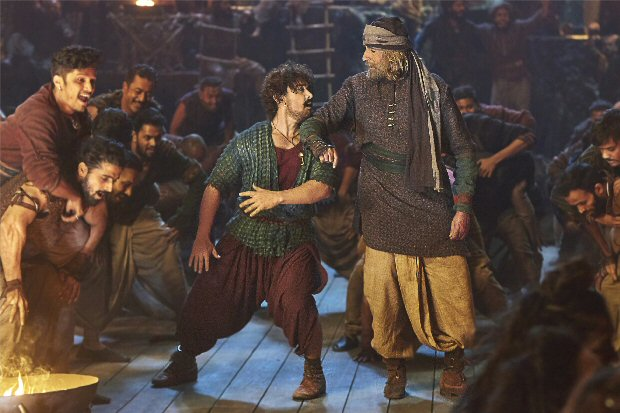 WOW! Amitabh Bachchan and Aamir Khan to groove for the first time in Thugs Of Hindostan's 'Vashmalle'
