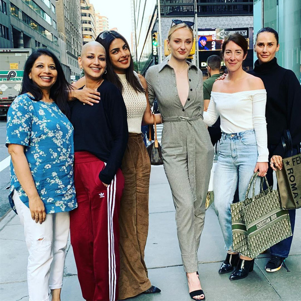 Priyanka Chopra hangs out with future sister-in-law Sophie Turner and Sonali Bendre in New York