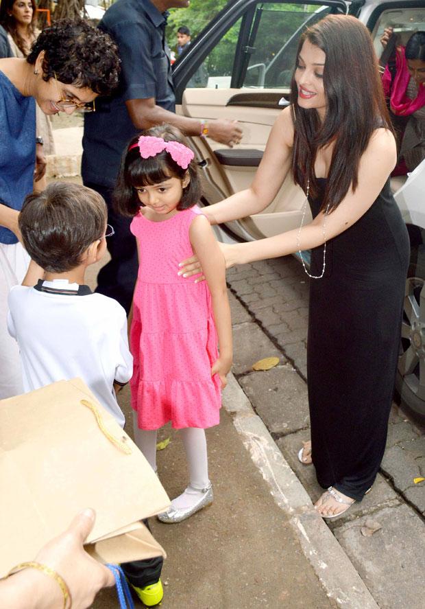 Aamir Khan's son Azad plays Ram and Aishwarya Rai Bachchan's daughter Aaradhya is Sita in a school skit (watch video)