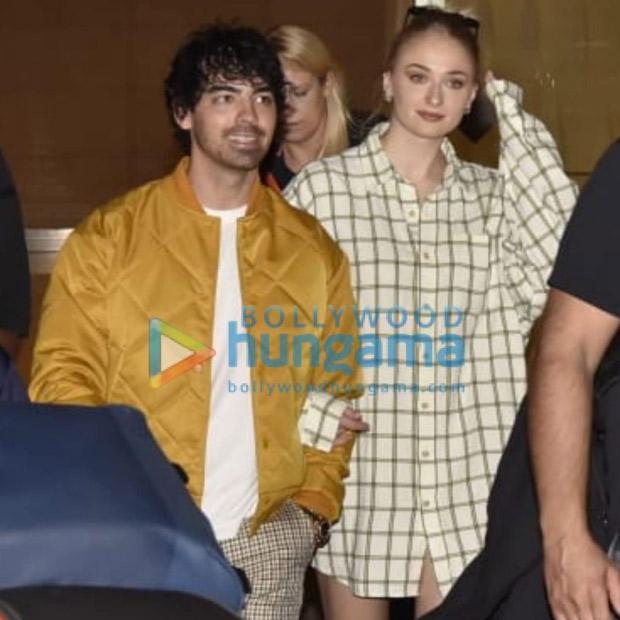 Ahead of Nick Jonas - Priyanka Chopra's wedding, Joe Jonas and Sophie Turner arrive in Mumbai