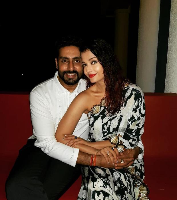 Aishwarya Rai Bachchan in Shivan & Narresh for her birthday dinner (1)