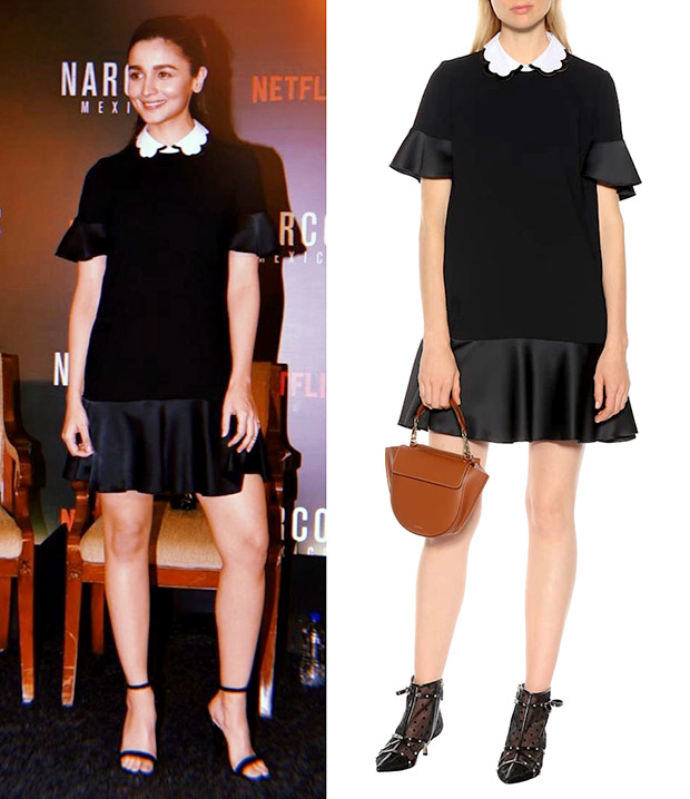 Alia Bhatt in Red Valentino for Narcos Mexico x Netflix event (3)
