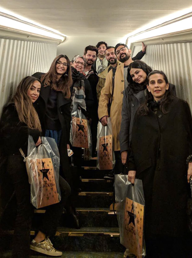 Anil Kapoor, Sonam Kapoor, Anand Ahuja and others are spending famjam moments in London and here's the proof!