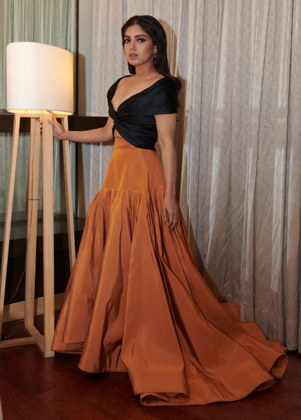 Bhumi Pednekar in Reem Acra for MAMI 2018 Closing Ceremony (2)