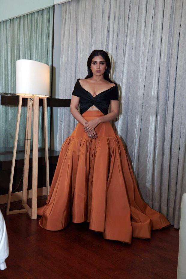 Bhumi Pednekar in Reem Acra for MAMI 2018 Closing Ceremony (3)