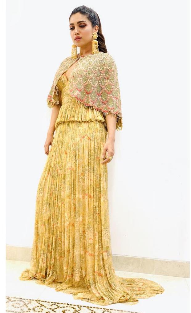 Bhumi Pednekar in Varun Bahl Couture for his store launch in Mumbai (1)