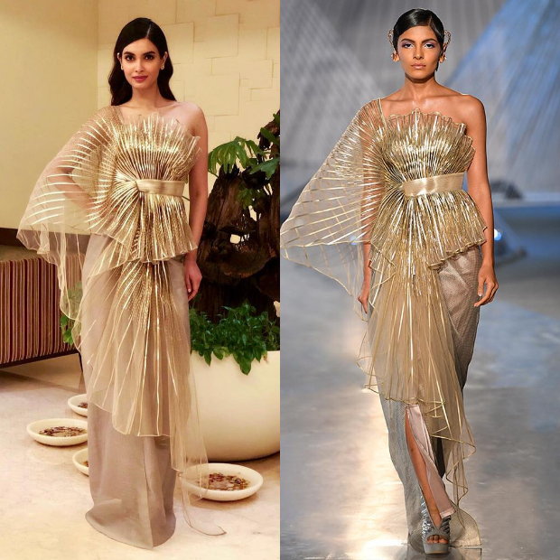 Diana Penty in Amit Aggarwal for the IFFI 2018 Goa closing ceremony (4)
