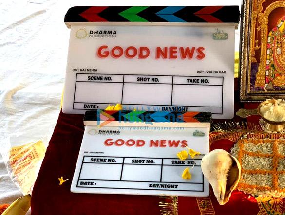 Karan Johar starts shooting Good News in Chandigarh