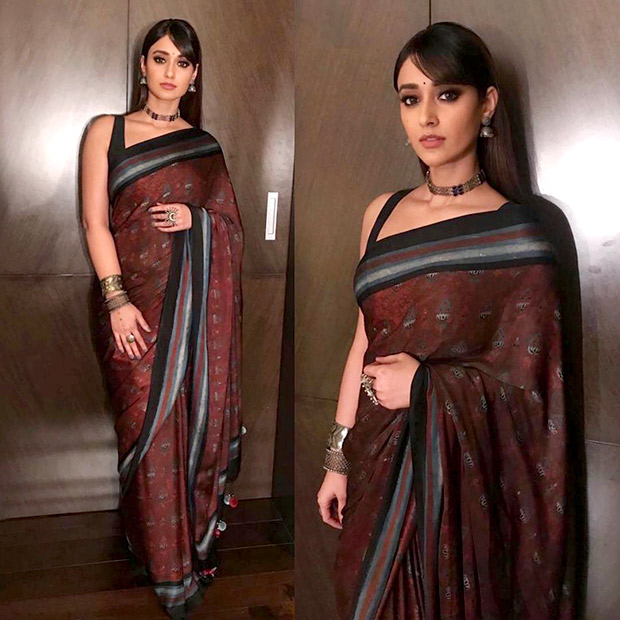 Ileana D'Cruz in Anita Dongre for Amar Akbar Anthony trailer launch in Hyderabad (2)