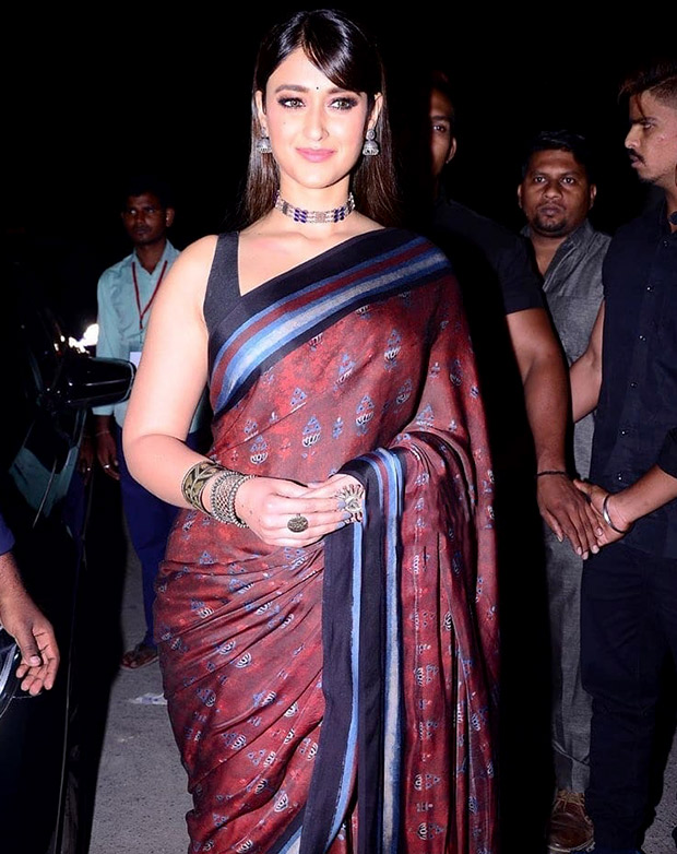 Ileana D'Cruz in Anita Dongre for Amar Akbar Anthony trailer launch in Hyderabad (6)
