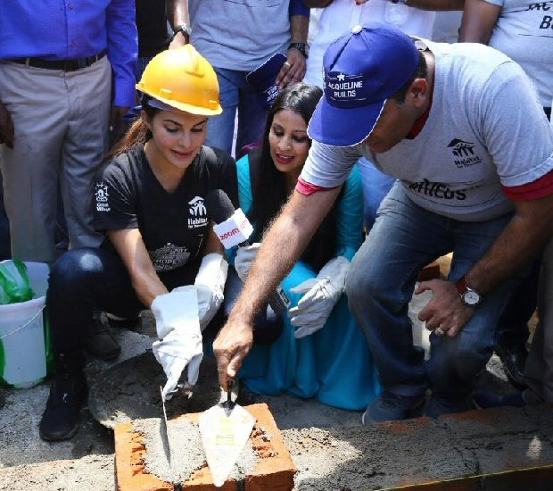 Jacqueline Fernandez flies to Kerala to help in rebuilding homes