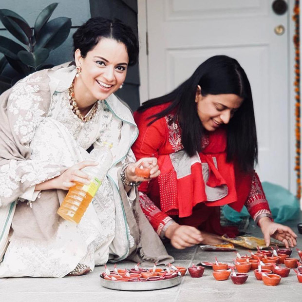 Whoa! Kangana Ranaut has a fun-filled Diwali time with family and this is the proof!