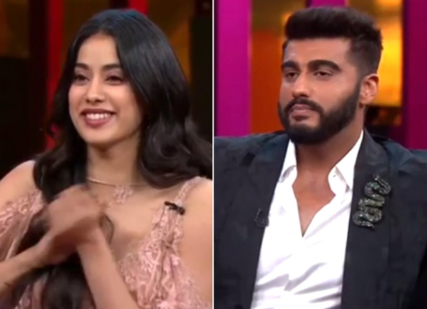 Koffee With Karan 6 Arjun Kapoor gets embarrassed talking about his sex life in front of sister Janvhi Kapoor