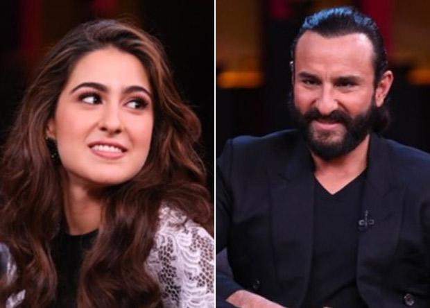 Koffee With Karan 6 Sara Ali Khan talks about her equation with Kareena Kapoor Khan after her marriage to dad Saif Ali Khan; Saif addresses Taimur Ali Khan's stardom
