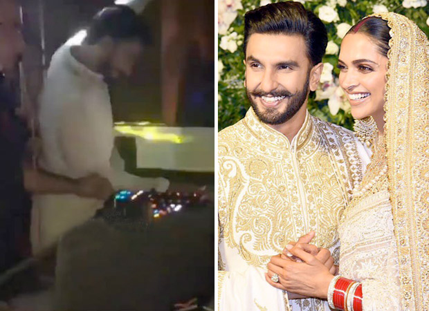LEAKED INSIDE VIDEOS: Ranveer Singh transforms into a lovelorn LIVEWIRE on the dance floor at their Mumbai reception