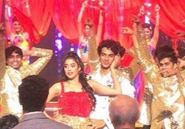 LEAKED VIDEOS! Janhvi Kapoor and Ishaan Khatter sizzle during their debut stage performance at Lux Golden Rose Awards