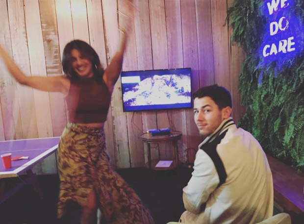 Priyanka Chopra and fiance Nick Jonas get competitive in a game of Mortal Combat, find out who won