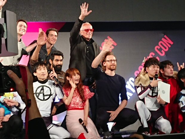 Rana Daggubati joins Avengers star Tom Hiddleston, Justice League's Ezra Miller, Harry Potter stars James Phelps and Oliver Phelps at Comic Con Tokyo