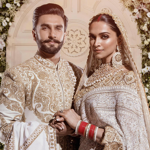Ranveer Singh & Deepika Padukone look impressive beyond imagination at their 2nd wedding reception