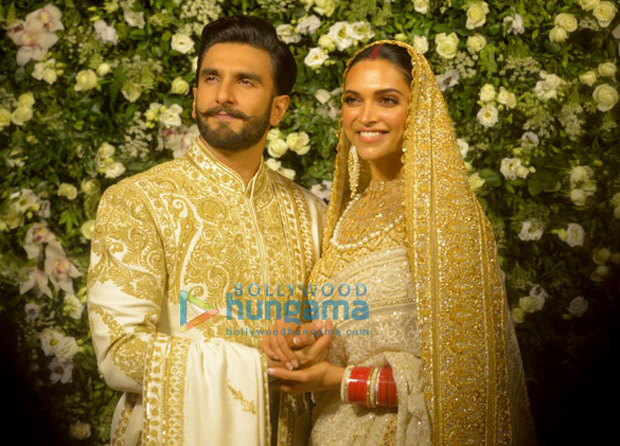 Ranveer Singh and Deepika Padukone Mumbai Reception The newlyweds look RADIANT and impressive beyond imagination