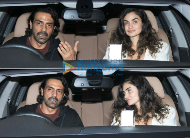 SPOTTED: Arjun Rampal with South African model Gabriella Demetriades