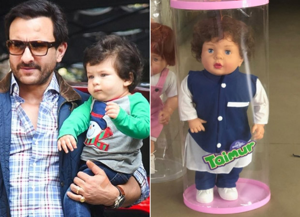 Saif Ali Khan has THIS to say about Taimur Ali Khan's DOLLS